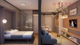 Apartamento à venda com 1 dormitórios em Centro, Curitiba cod:AP37226