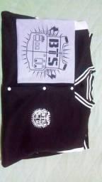 Casaco + Camiseta BTS logo antigo