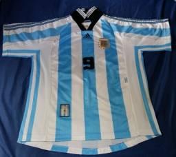 Camisa da Seleção da Argentina - 1998