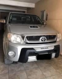 Hilux 2011 prata - 2011