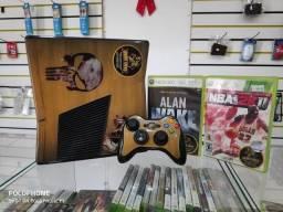 Anubis Games: XBOX 360 Slim personalizado com 2 jogos!!