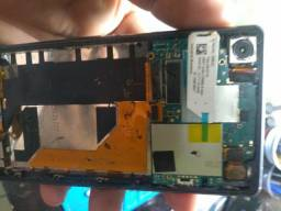 Placa Sony D6643 semi nova