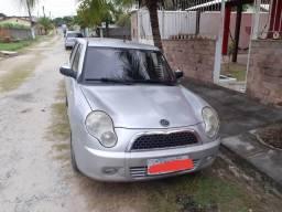 Lifan 320 Elite 4P Prata 2011 Gasolina/GNV - 2011
