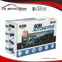 Som para carro mp3 play com Usb Bluetooth Sd Radio