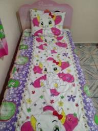 Colcha de cama da gatinha Marie