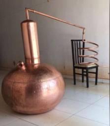 Alambique novo de cobre