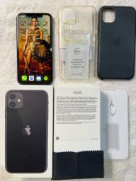 IPHONE 11 256 gb Completo + NF.Leia.