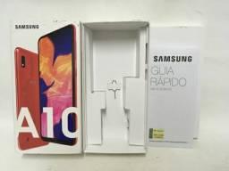 Samsung A10 32 g vermelho franca sp