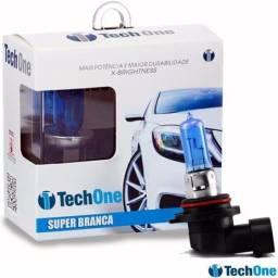 Legítimas Super Brancas Tech One 8500K H4 H7 H8 H3 H27 H1 H16 HB4 e H11