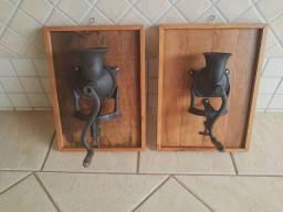 Moinhos de café antigos