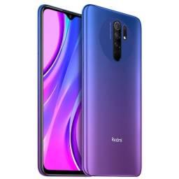 "Smartphone Xiaomi Redmi 9 - 64GB- tela de 6.53"" - Sunset Purple"