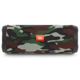 Caixa de Som JBL Flip 4 Bluetooth - Camuflado<br><br>