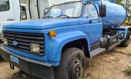Caminhão pipa chevrolet, 12.000 toco, ano 1990, 8.000l com bomba
