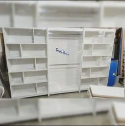 Título do anúncio: Kit Closet - Meia Colmeia e Cabideiros/Araras - NOVO