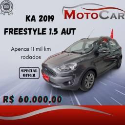 Ka Freestyle Automático 2019 com 11mil km rodados !