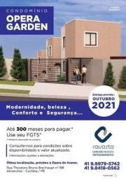 Título do anúncio: Condomínio Opera Garden- Sobrados 02 dormitórios, 57m²