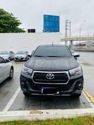 Título do anúncio: Toyota Hilux CD SRXA4FD 2020 Preta