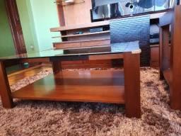 [4x no cartão] Lindo conjunto de rack e mesas (móveis de Gramado).