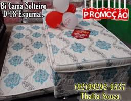 Título do anúncio: Bi cama solteiro Pelmex D-18 espuma firme //\\/ + frete grátis Manaus