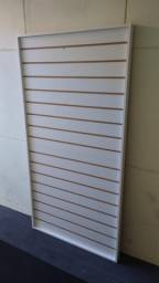 Título do anúncio: Painel canelado branco em MDF para loja