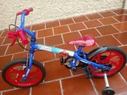 Título do anúncio: Bicicleta aro16 caloi homem aranha