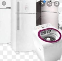 Conserto de geladeira e máquina de lavar