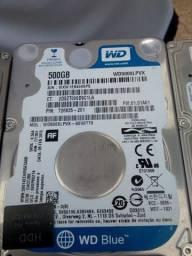 Título do anúncio: HD 500 GB para notebook.