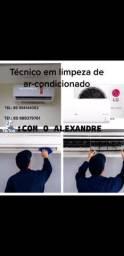 Título do anúncio: Técnico em limpeza de AR CONDICIONADO