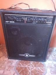 Título do anúncio: Caixa amplificada 500 watts