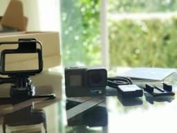 Título do anúncio: GoPro Hero 6 Black nova (aberta apenas para teste de funcionamento)