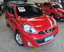 Título do anúncio: Nissan March  1.6 16V SV (Flex) FLEX MANUAL