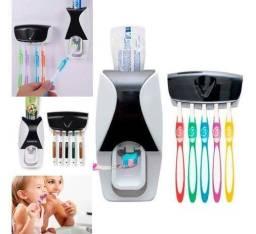 Título do anúncio: Kit dispenser de pasta+ suporte para 5 escovas