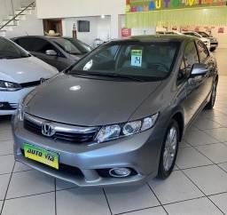 Honda/ Civic Lxr 2.0 automático ano 2014 completo arbg e abs