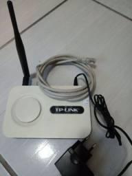 Modem TP-LINK modelo TL -WR340GD - 54M WireLess Router - Com fonte + antena + cabo
