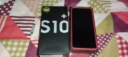Vendo Samsung Galaxy S 10 plus com 25 dias de uso . Leia o anúncio.