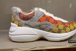 Título do anúncio: Tenis Gucci coleção nova ORIGINAL