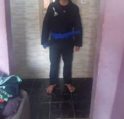 Kimono intheguard A1 com faixa azul