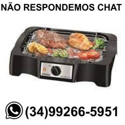 Título do anúncio: Churrasqueira Grill Elétrica Mondial (Consulte Voltagem) - Nova
