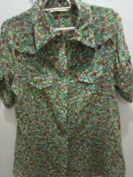 Camisa feminina Tam G