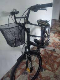 Bicicleta aro 26 Caloi quadro de alumínio