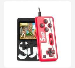 Mini Vídeo Game Portátil 400 Jogos Retro Clássico Controle 2 Jogadores SUP ?: