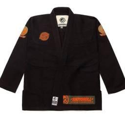 Kimono jiu jitsu shoyoroll preto - Importado original