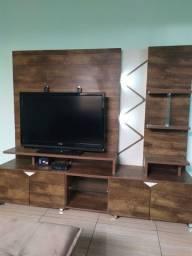 Painel Home, rack, estante