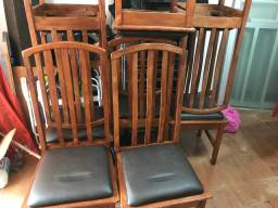 Cadeiras maciça