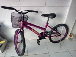 Bicicleta infantil menina aro 20