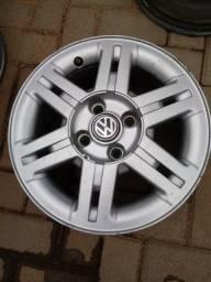 Jogo de rodas aro 14 original VW