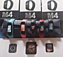 smartwhatch M4 com película