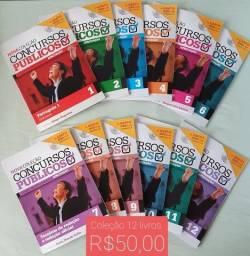 Título do anúncio: Livros para concursos Dir Adm., Constitucional, tributário, contabilidade, português