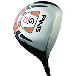 Título do anúncio: Taco de Golfe Driver Ping G10 10.5 dRAW - 460CC Titanium Original USA Semi Novo