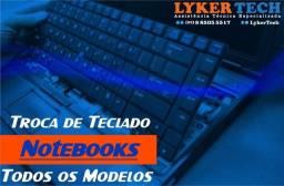 Título do anúncio: troca teclado para notebook
